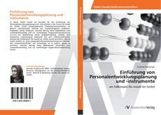 Portada del libro de Einführung von Personalentwicklungsplanung und -instrumente