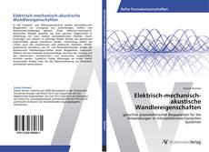 Elektrisch-mechanisch-akustische Wandlereigenschaften kitap kapağı