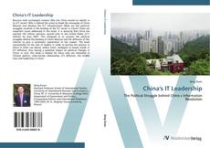 Bookcover of China's IT Leadership