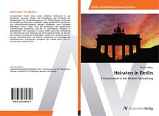 Heiraten in Berlin kitap kapağı