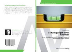 Bookcover of Schwingungen einer Gasblase