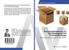 Buchcover von Prozessoptimierung im Wareneingang mit Potenzialaussage