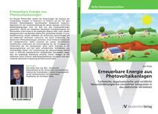 Capa do livro de Erneuerbare Energie aus Photovoltaikanlagen