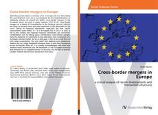 Обложка Cross-border mergers in Europe