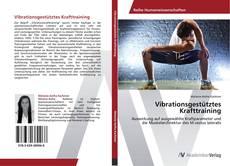 Buchcover von Vibrationsgestütztes Krafttraining