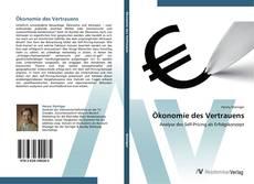 Capa do livro de Ökonomie des Vertrauens