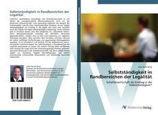 Portada del libro de Selbstständigkeit in Randbereichen der Legalität