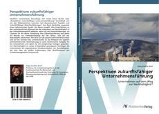Perspektiven zukunftsfähiger Unternehmensführung kitap kapağı