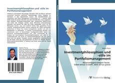 Investmentphilosophien und -stile im Portfoliomanagement的封面