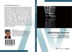 Bookcover of Nachhaltiger Konsum