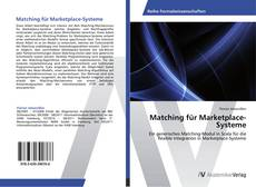 Bookcover of Matching für Marketplace-Systeme