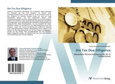 Bookcover of Die Tax Due Diligence