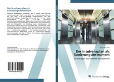 Capa do livro de Der Insolvenzplan als Sanierungsinstrument