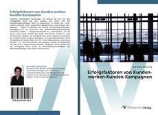 Buchcover von Erfolgsfaktoren von Kunden-werben-Kunden-Kampagnen