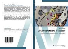 Bookcover of Gewerkschaftliche Interessen