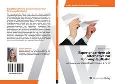 Buchcover von Expertenkarriere als Alternative zur Führungslaufbahn