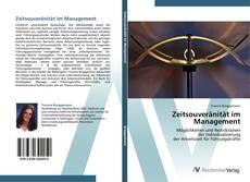 Zeitsouveränität im Management kitap kapağı