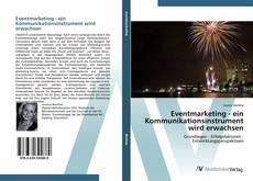 Capa do livro de Eventmarketing - ein Kommunikationsinstrument wird erwachsen