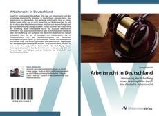 Buchcover von Arbeitsrecht in Deutschland