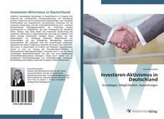 Обложка Investoren-Aktivismus in Deutschland