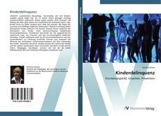 Bookcover of Kinderdelinquenz