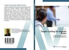 Bookcover of Target Costing für digitale Güter