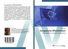 Buchcover von Europäische Öffentlichkeit