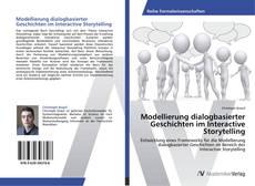 Capa do livro de Modellierung dialogbasierter Geschichten im Interactive Storytelling