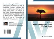 Armutsminderung durch Ökotourismus kitap kapağı