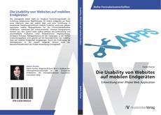 Buchcover von Die Usability von Websites auf mobilen Endgeräten