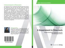 Bookcover of E-Government in Österreich