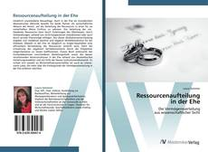Bookcover of Ressourcenaufteilung  in der Ehe