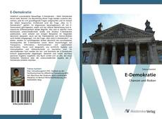 Bookcover of E-Demokratie