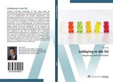 Bookcover of Lobbying in der EU
