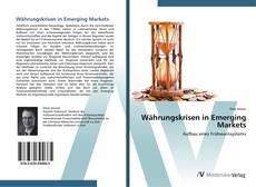 Bookcover of Währungskrisen in Emerging Markets