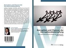 Buchcover von Korruption und Chancen der Korruptionsbekämpfung