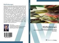 Bookcover of Mietforderungen