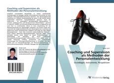 Coaching und Supervision als Methoden der Personalentwicklung kitap kapağı