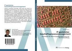 Copertina di IT-gestütztes Geschäftsprozessmanagement