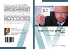 Bookcover of Personalauswahl gemäß DIN 33430