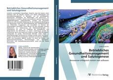 Buchcover von Betriebliches Gesundheitsmanagement und Salutogenese