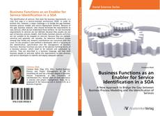 Capa do livro de Business Functions as an Enabler for Service Identification in a SOA