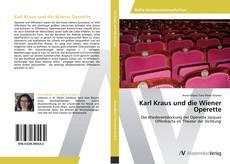 Buchcover von Karl Kraus und die Wiener Operette