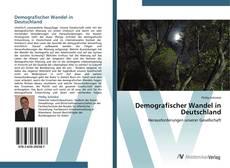 Capa do livro de Demografischer Wandel in Deutschland