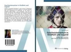 Bookcover of Geschwisterverlust in Kindheit und Jugend
