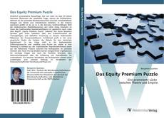 Bookcover of Das Equity Premium Puzzle