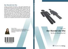 Bookcover of Der Wandel der Ehe