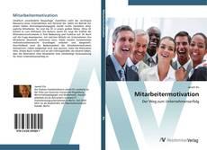 Bookcover of Mitarbeitermotivation