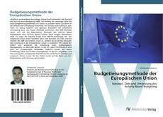 Bookcover of Budgetierungsmethode der Europäischen Union