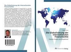 Buchcover von Die Globalisierung der internationalen Finanzmärkte